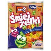 nimm2 Śmiejżelki Happies Żelki owocowe wzbogacone witaminami 130 g