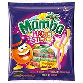 Mamba Magic Sticks Gumy rozpuszczalne o smakach owocowych 150 g