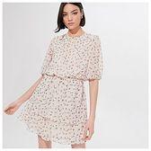 Mohito - Mini sukienka w kwiaty - Kremowy