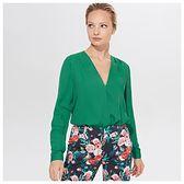 Mohito - Kopertowa bluzka - Zielony