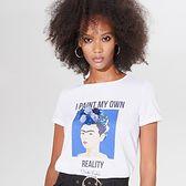 Bawełniana koszulka z Fridą Kahlo