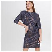 Połyskująca mini sukienka