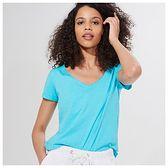 Mohito - Koszulka z bawełny organicznej Eco Aware - Turkusowy