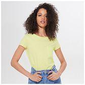 Mohito - Koszulka z bawełny organicznej Eco Aware - Żółty