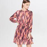 Mini sukienka we wzory