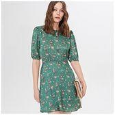 Mohito - Sukienka w kwiaty - Zielony