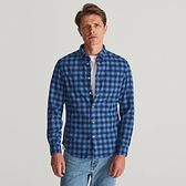 Reserved - Koszula w kratę - Niebieski