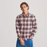 Reserved - Koszula regular fit w kratę - Czerwony