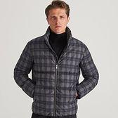 Reserved - Pikowana kurtka z kapturem - Jasny szary