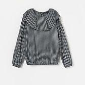 Reserved - Bluzka w kratkę - Czarny