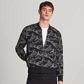 Reserved - Bluza ze strukturalnym wzorem - Czarny