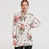 Reserved - Wzorzysta koszula z EcoVero™ - Kremowy