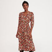 Reserved - Sukienka w drobne kwiaty - Wielobarwny