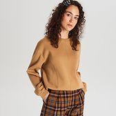 Bluza oversize z przeszyciami