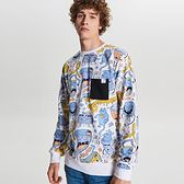 Bluza z grafiką all over
