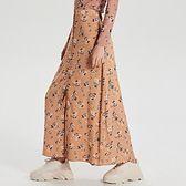 Maxi spódnica z wiązaniem