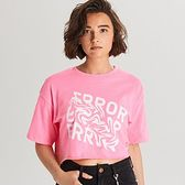 Krótka koszulka oversize