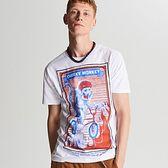 Koszulka z dużym nadrukiem