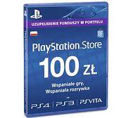 Sony PlayStation Network 100 zł