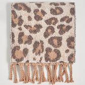 Sinsay - Szalik w leopardzie cętki - Beżowy