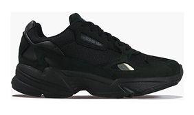 Buty sportowe damskie Adidas Originals do biegania bez wzorów płaskie wiązane
