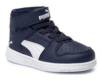 Puma buty sportowe dziecięce na rzepy jesienne z tworzywa sztucznego bez wzorów