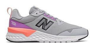 New Balance buty sportowe damskie casualowe gładkie wiosenne płaskie