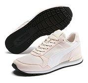 Buty sportowe damskie Puma różowe płaskie sznurowane