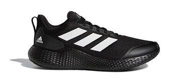 Buty sportowe męskie Adidas czarne wiązane jesienne