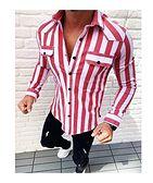 Koszula męska wielokolorowa Dstreet na wiosnę z długimi rękawami