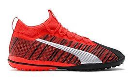 Puma buty sportowe męskie czerwone sznurowane