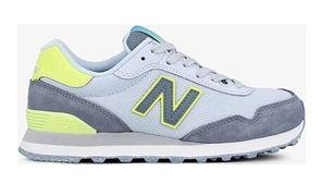 Buty sportowe damskie New Balance płaskie na wiosnę