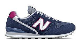 Buty sportowe damskie New Balance w stylu casual płaskie