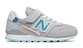 Buty sportowe dziecięce New Balance zamszowe wiązane