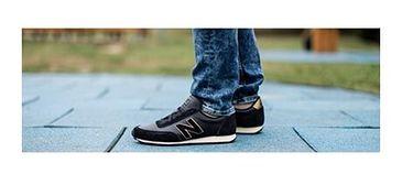 Buty sportowe męskie New-balance czarny