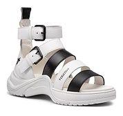 Sandały damskie gładkie