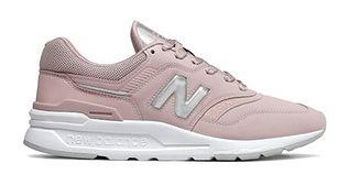 Buty sportowe damskie New Balance w stylu casual w młodzieżowym gładkie sznurowane