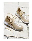 Buty sportowe damskie Multu beżowe wiązane na płaskiej podeszwie