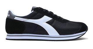 Buty sportowe męskie Diadora z zamszu sznurowane