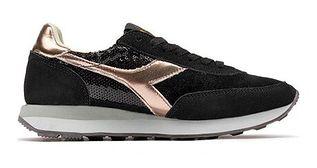 Buty sportowe damskie Diadora na płaskiej podeszwie sznurowane