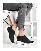 Buty sportowe damskie CzasNaButy na płaskiej podeszwie bez zapięcia