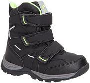 Buty zimowe dla małych chłopców JOBMW301Z - czarny