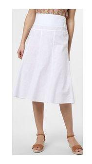 Spódnica Franco Callegari biała casualowa