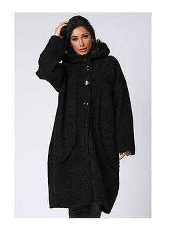 Płaszcz damski Plus Size Fashion