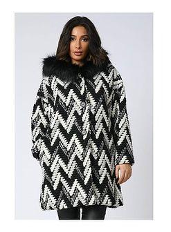 Płaszcz damski Plus Size Company