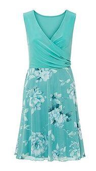 Sukienka Bonprix mini z dekoltem w serek