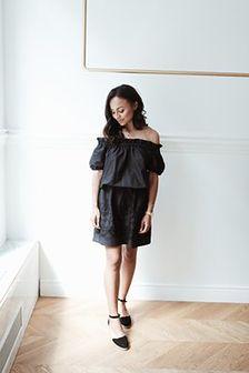 Sukienka Flora Black