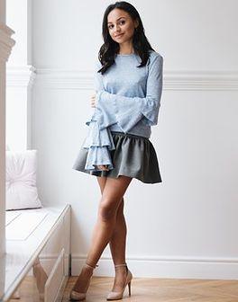 Sweter Allie Blue