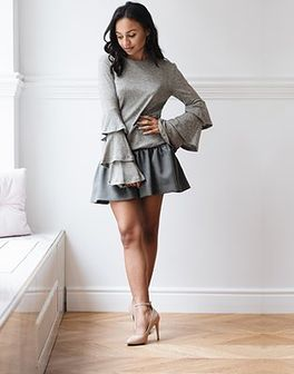 Sweter Allie Gray