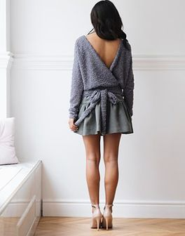Sweter Malibu Grey